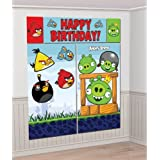Angry Birds Giant Scene Setter Wall Decorating Kit (5pc)