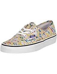 Vans Unisex Authentic Liberty Sneakers (Liberty) Wonderland/True White 3.5 B(M) US