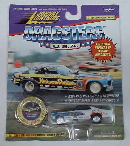 Johnny Lightning Dragsters Die Cast Car Ed Mcculloch 71 Revellution - 1