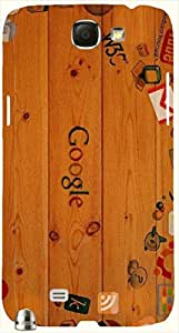 Great multicolor printed protective REBEL mobile back cover for Samsung Galaxy Note II N7100 D.No.N-L-12576-N2