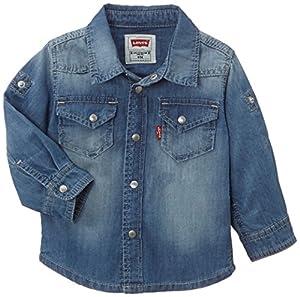 Levi's Kids NF12014 - Camisa para bebé-niños