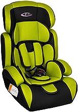 TecTake Silla de coche para niños - Grupos 1/2/3 pesos de 9-36 kg negro/seguro