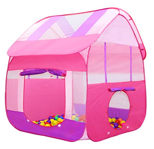 Home ...  sc 1 st  Epic Kids Toys & Kiddey Pink Playhouse Tent for Girls - Polyester Nylon Pop Up for ...