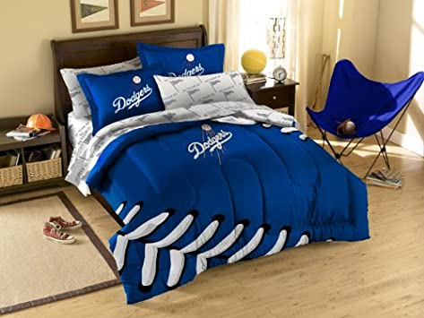Superb Los Angeles Dodgers LA Bed in a Bag Comforter Set