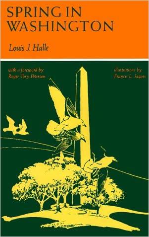 Spring in Washington (Maryland Paperback Bookshelf) written by Louis Halle