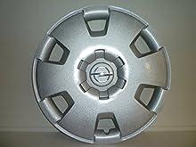 Juego de Tapacubos 4 Tapacubos Diseño de Opel Astra a Partir de 2005, r 16 () Logo Cromado