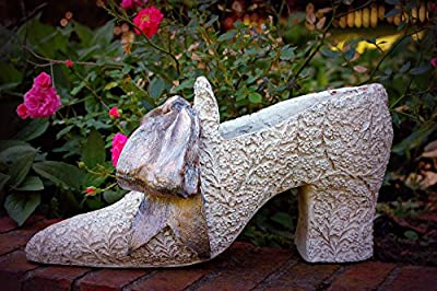 Hickory Manor House Ladies Shoe Planter, Creme/Gold/Silver