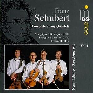 Schubert: Complete String Quartets, Vol. 1