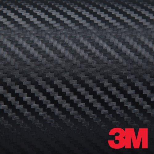 Black 3M DI-NOC Carbon Fiber DINOC Flex Wrap CA-421 24