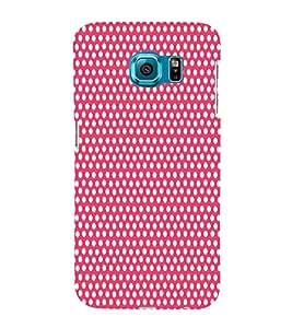 Pyar Pink Dot 3D Hard Polycarbonate Designer Back Case Cover for Samsung Galaxy S6 Edge :: Samsung Galaxy Edge G925
