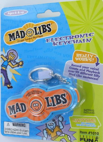 Visit Electronic Mad Libs Handheld Game Details