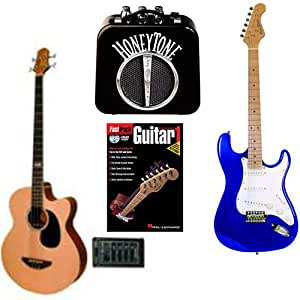 bass electric guitars beginner pack acoustic electric bass guitar with spruce. Black Bedroom Furniture Sets. Home Design Ideas