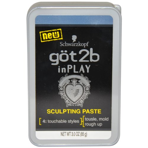 Got2b Inplay Sculpting Paste, 3-Ounce (Pack of 2)