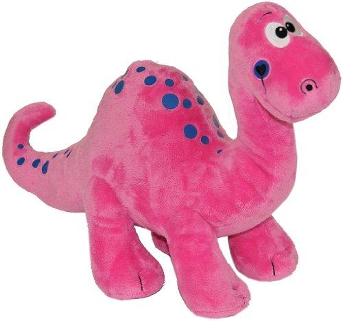 Dinosaurio de peluche rosa , 40 cm