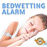 BEDWETTING ALARM Nocturnal Enuresis Bed Wetting Alarm Treatment - GREAT BLADDER CONTROL DEVICE - sound & vibration alarm with led light - SMALLEST and MOST EFFECTIVE model on the market - 100% money back guarantee...compare with Malem for quality and price