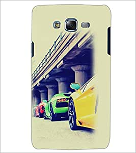 PrintDhaba Cars D-2169 Back Case Cover for SAMSUNG GALAXY J5 (Multi-Coloured)