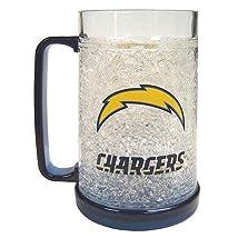 NFL 16 oz. Crystal Freezer Mug NFL Team: San Diego Chargers