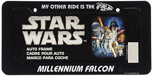 Chroma 42525 Black Star Wars Millennium Falcon Plastic Frame