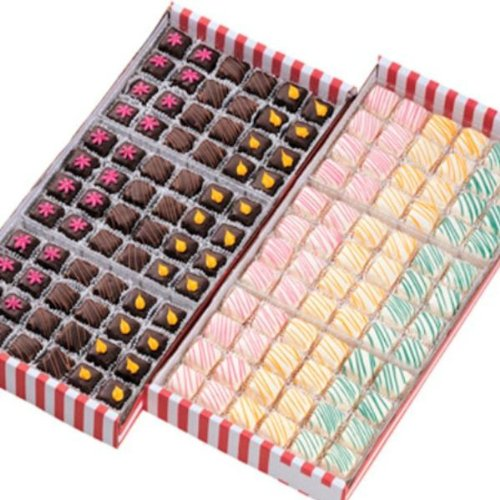 Silverlake Traditional European Petit Fours Gourmet Platter – 144ct Box