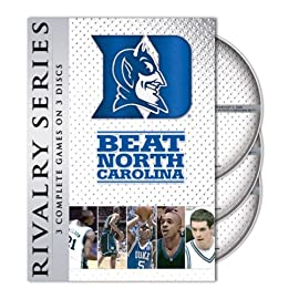 duke beats unc dvd set