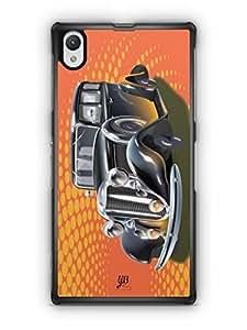 YuBingo Vintage Dream Car Mobile Case Back Cover for Sony Xperia Z1