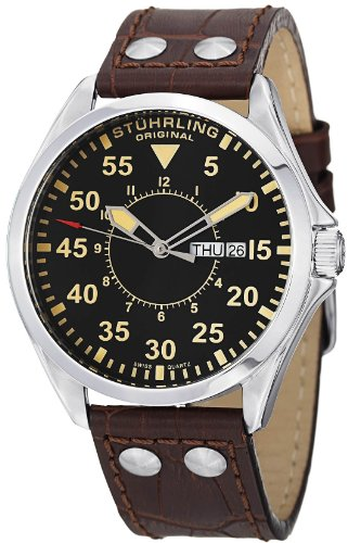 Stuhrling Original Men's 479.3315K1 Classic Traveler 