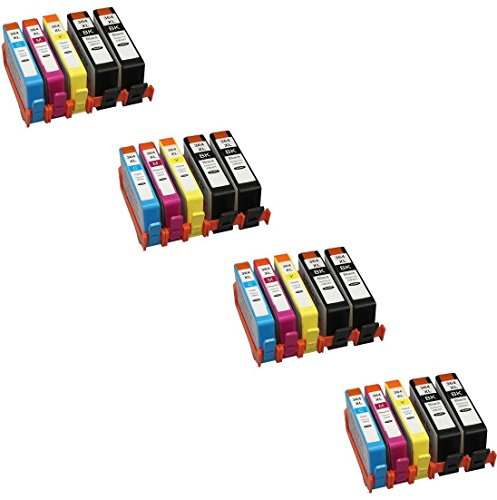 Prestige Cartridge HP 364XL 20 Cartucce d'Inchiostro Compatibile per Stampanti HP Photosmart/Deskjet/Officejet Serie, Nero/Ciano/Magenta/Giallo