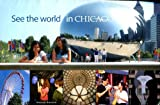 SEE THE WORLD IN CHICAGO /FOLDOUT BROCHURE /FOURTH EDITION /PHOTOS++++++