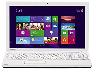 Toshiba Satellite C55-A-1R8 15.6-inch Laptop (Intel Pentium N3520 2.17 GHz, 8 GB RAM, 1 TB HDD, Windows 8.1) - White