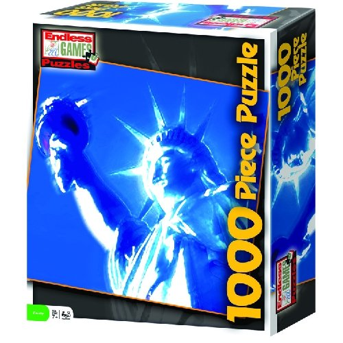 Tosh Statue of Liberty 1000pc Jigsaw Puzzle