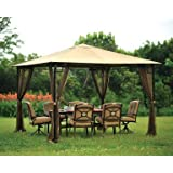 Living Accents Mosquito Netting 10' X 10' Brown