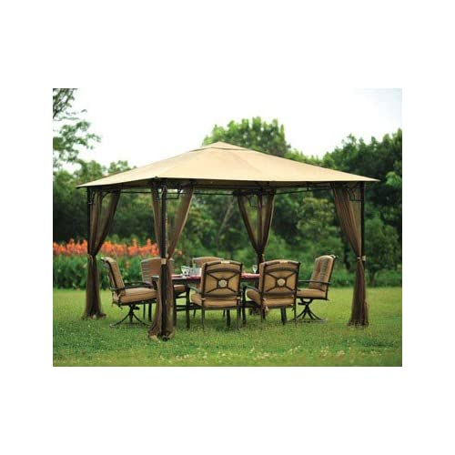 Living Accents Metropolitan Patio Furniture: Living Accents Gazebo Mosquito Netting