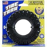 JW Pet Survivor Tire Trax Dog Toy, 4.5-inch (Medium)