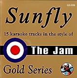 The Jam Sunfly Karaoke Gold - The Jam CDG