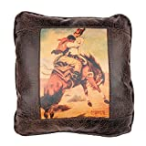 Big House Home Collection Buckin' Bronc Home Accent Pillows, 16 by 16-Inch