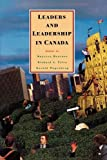 img - for Leaders and Leadership in Canada book / textbook / text book