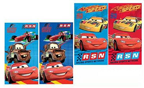Disney Cars Set di 4bambini asciugamano 35x 65cm asciugamano