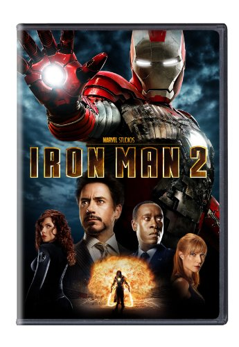 DVD : Iron Man 2 (, Dubbed, Dolby, AC-3, Widescreen)