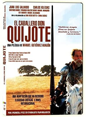 El Caballero Don Quijote (Import Movie) (European Format - Zone 2) (2014) 'Juan Luis Galiardo':'Carlos Igle