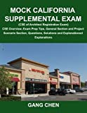 img - for Mock California Supplemental Exam (CSE of Architect Registration Exam): CSE Overview, Exam Prep Tips, General Section and Project Scenario Section, Questions, Solutions and Explanations book / textbook / text book