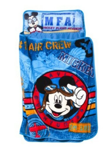 Disney Flight Academy Nap Mat, Mickey Mouse (Discontinued By Manufacturer) front-622280