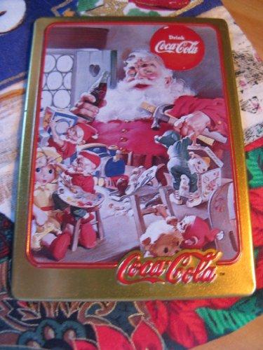1953 Coca-Cola Santa Card (1994 Limited Edition Metal Card)