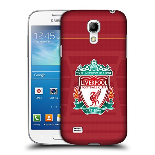 Official Liverpool Football Club Crest Home Shirt Kit 2016/17 Hard Back Case for Samsung Galaxy S4 mini I9190 (Chs Duo compare prices)