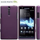 Case-Mate docomo Xperia NX SO-02D Safe Skin Emerge Smooth, Purpleセーフスキン エマージ・スムース TPUケース, パープル CM020319