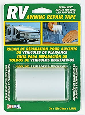 "Incom Manufacturing RE3848 3"" X 15' Awning Repair Tape"