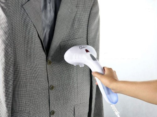 DB-Tech 1000-Watt Hand-Held Garment Steamer with Travel Pouch and Accessories