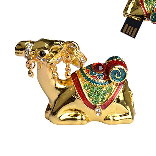 jmc095-4gb-camel-shaped-usb-flash-drive-with-jewelry-surface-gold