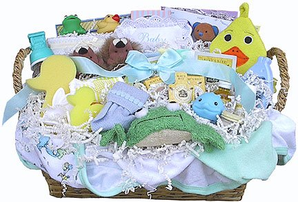 Everything Bath Time Gift Basket