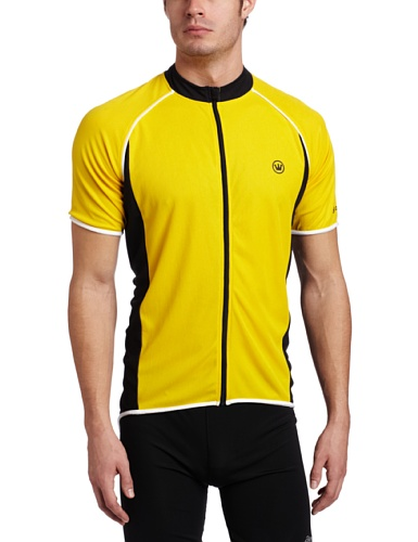Canari Cyclewear Men's Endurance Short Sleeve Cycling Jersey, Pyamid, Medium