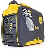 WEN 56200i 79.7cc OHV 4-Stroke Gas-Powered Portable Inverter Generator, 2000-watt